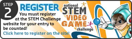 Step 2: Register at the STEM Challenge website for your entry to be counted! Click here to register for the STEM Challenge!